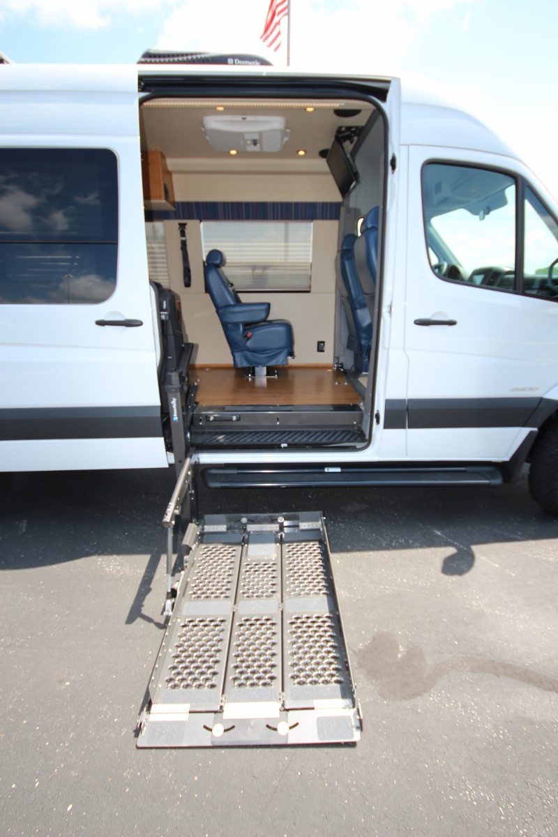 4x4 Handicap Accessible Camper Sprinter