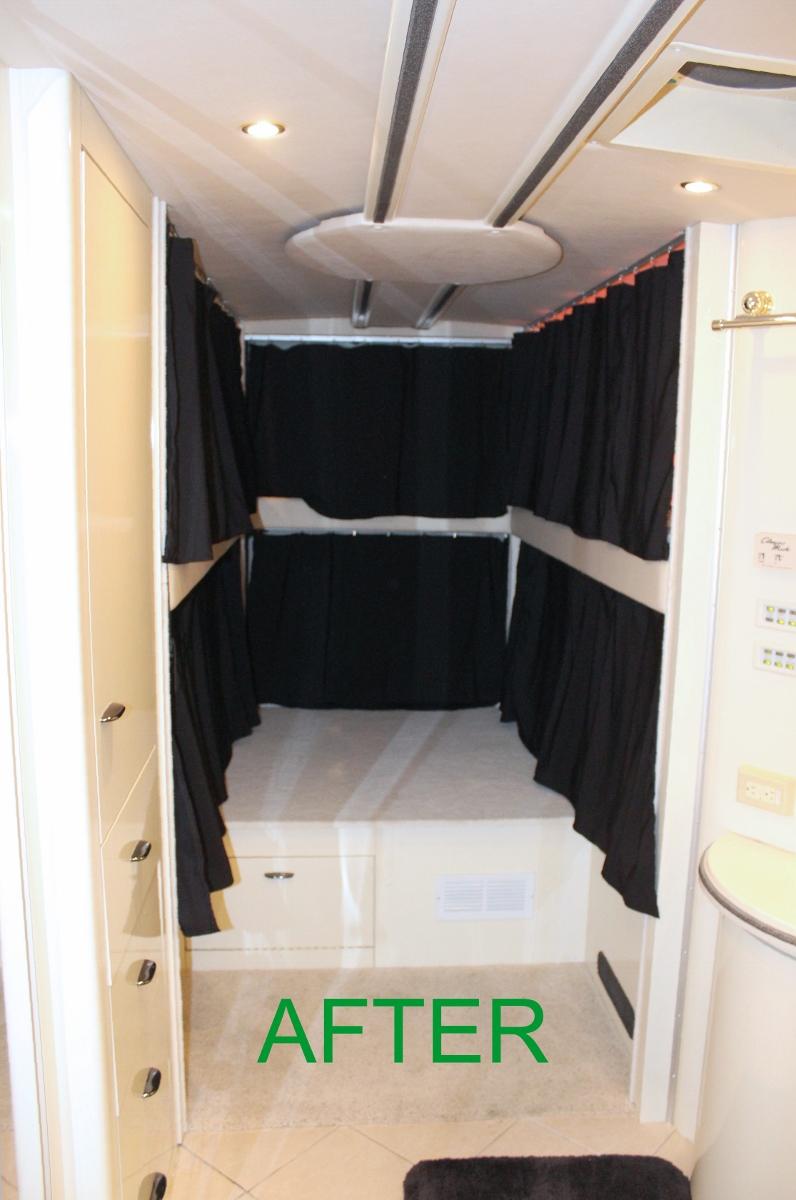 Work Vans For Sale >> Private Bunks Bedroom Retrofit