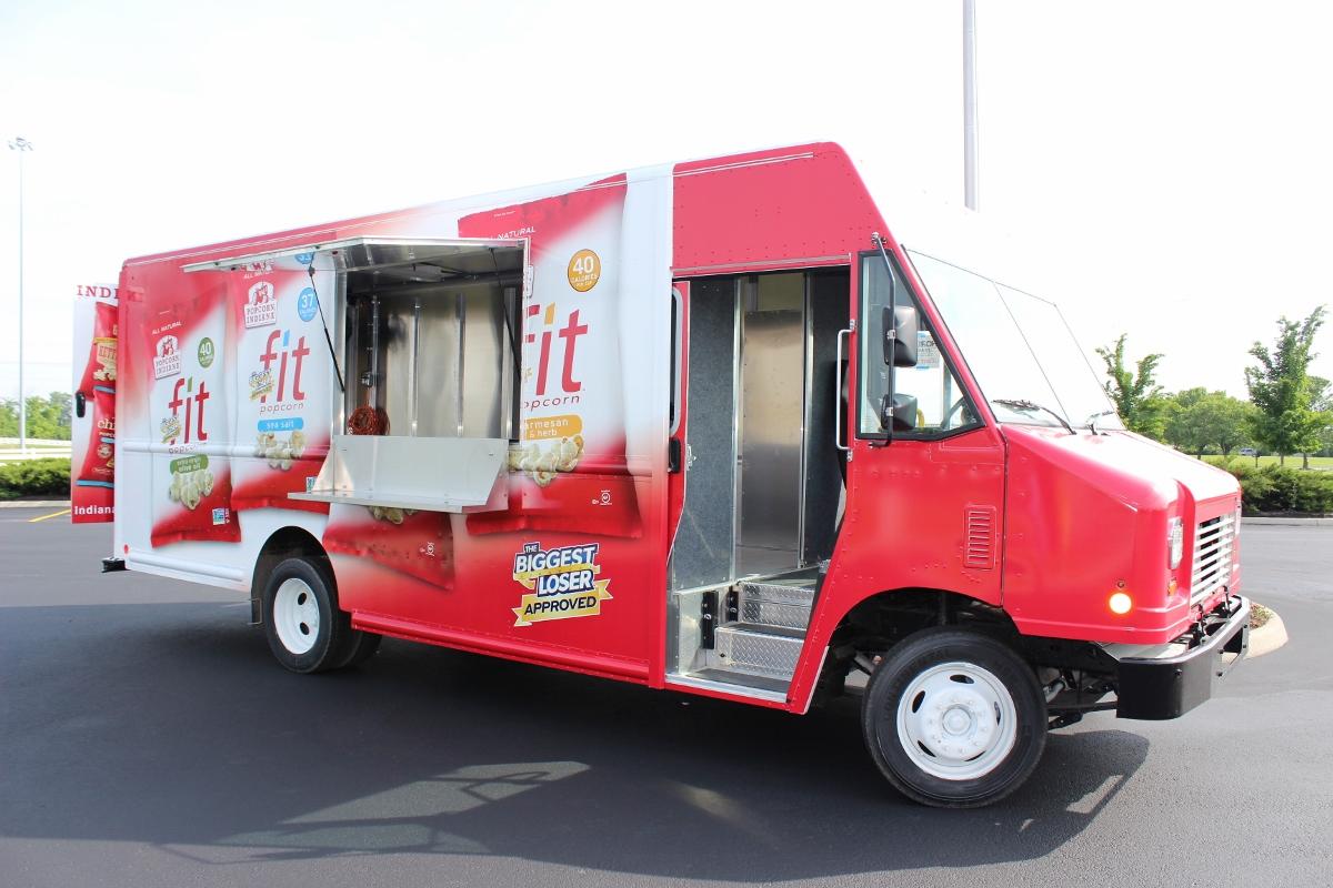 Popcorn Truck Step Van