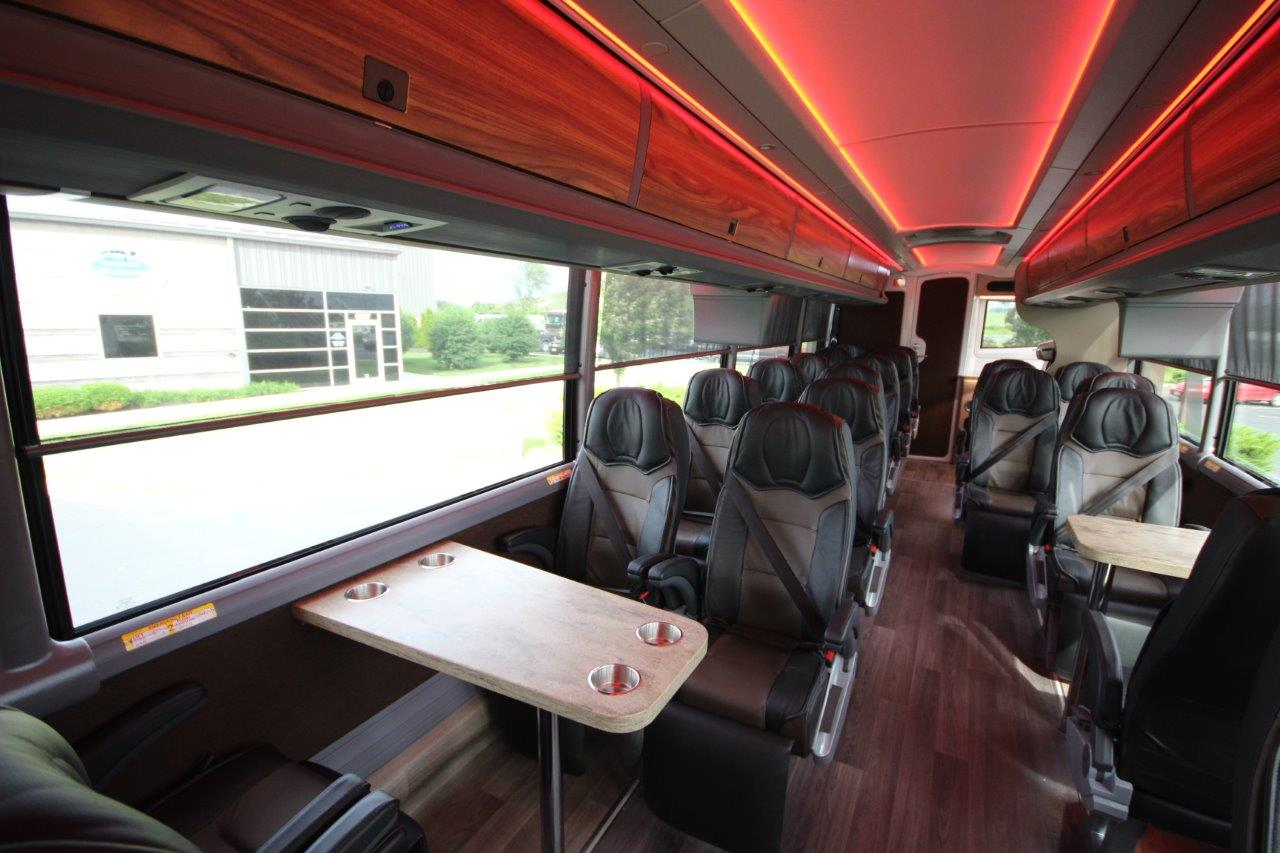 Top Tier Custom Transit Coach