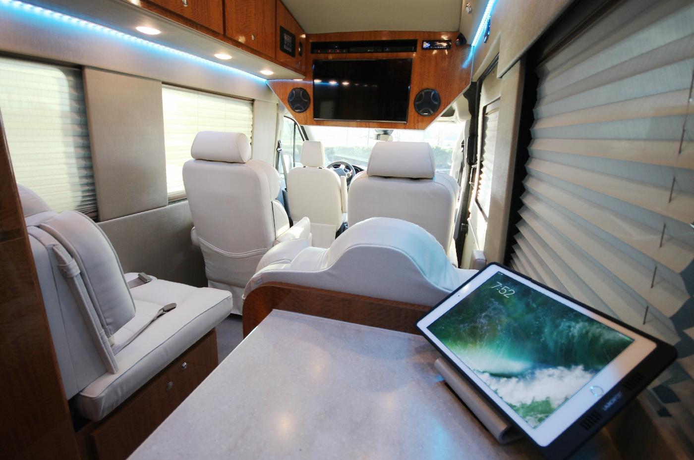 Custom Luxury 4x4 Ford Transit