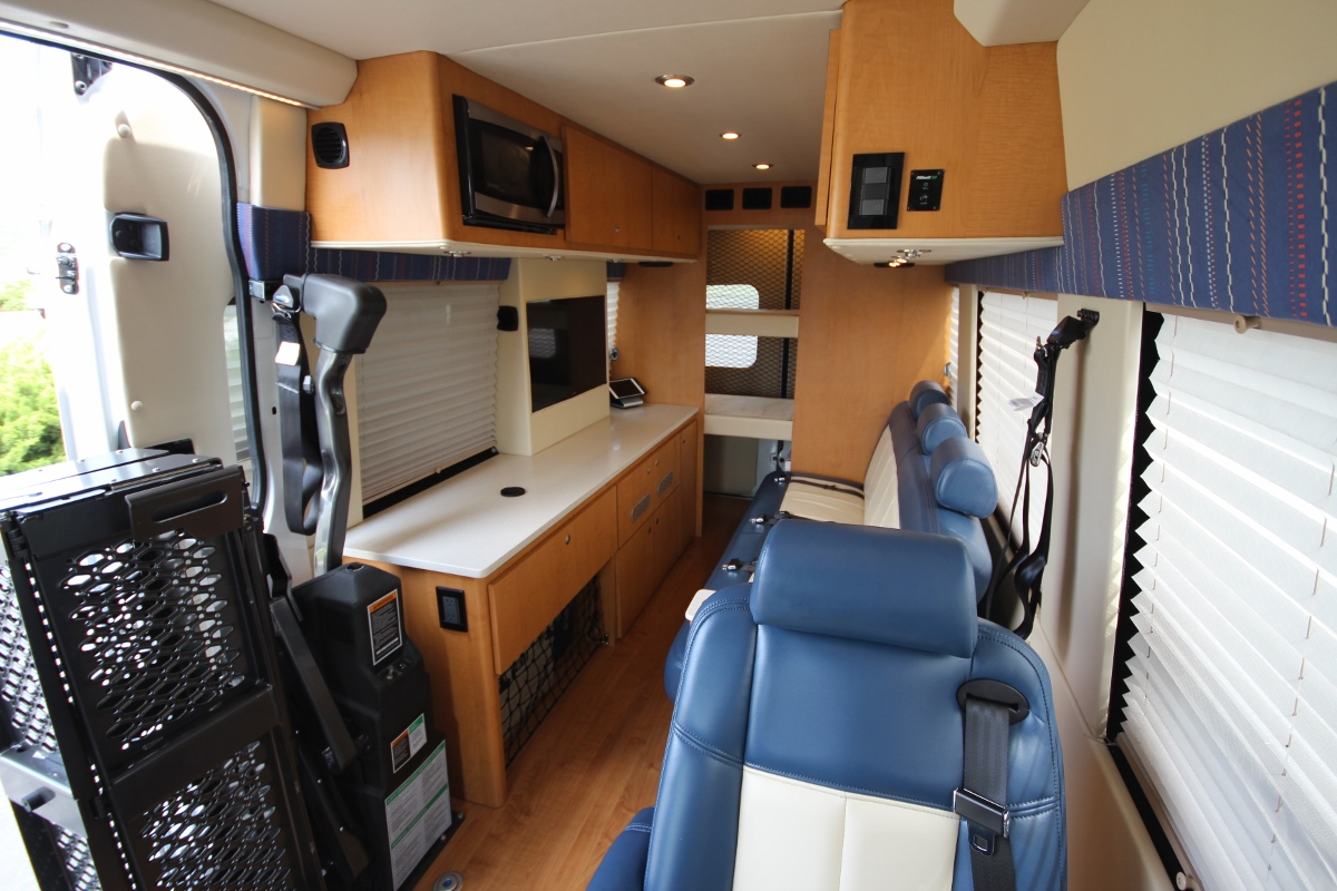 Sprinter Rv For Sale >> 4x4 Handicap Accessible Camper Sprinter