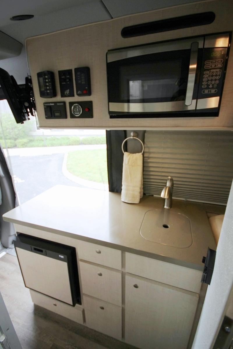Custom Mercedes Sprinter >> Screened-In Camping Sprinter