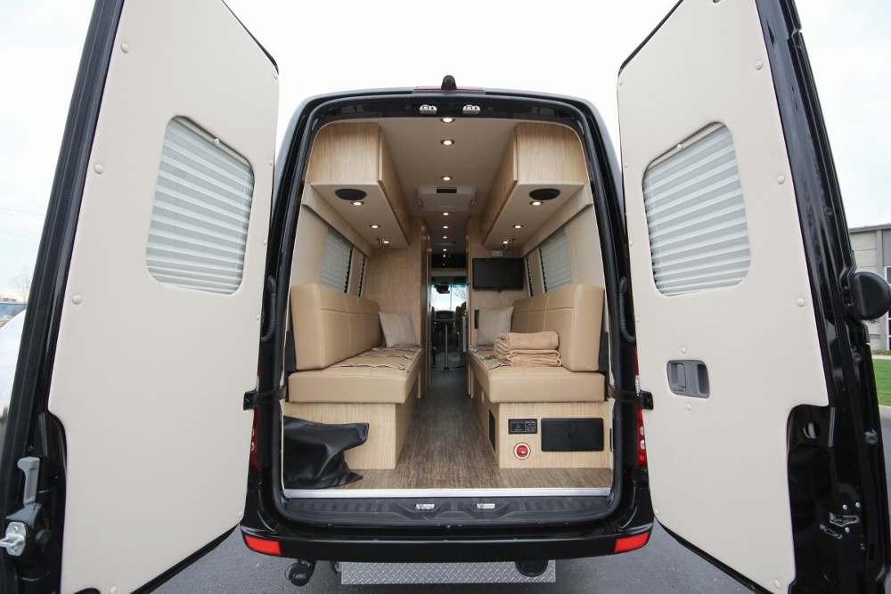 Custom sprinter 3500 for autos post for Mercedes benz conversion van