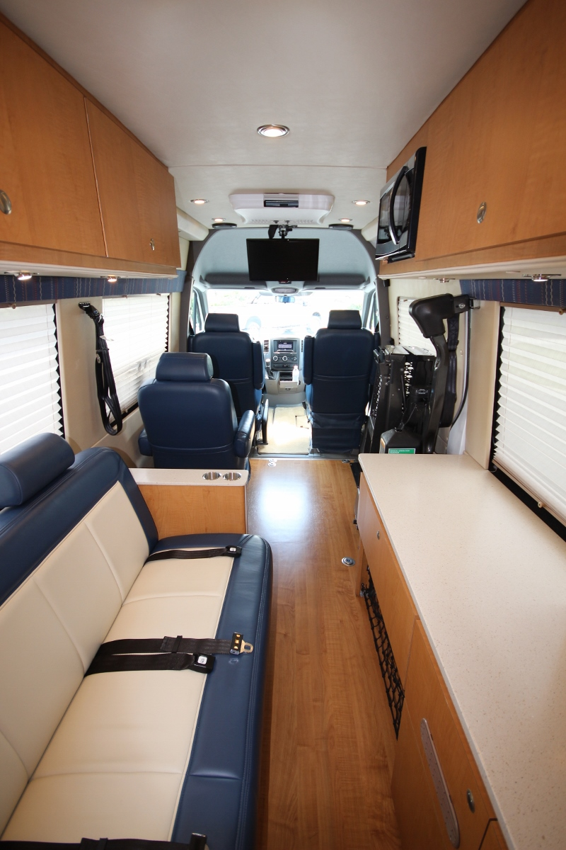 4x4 Handicap Accessible Camper Sprinter