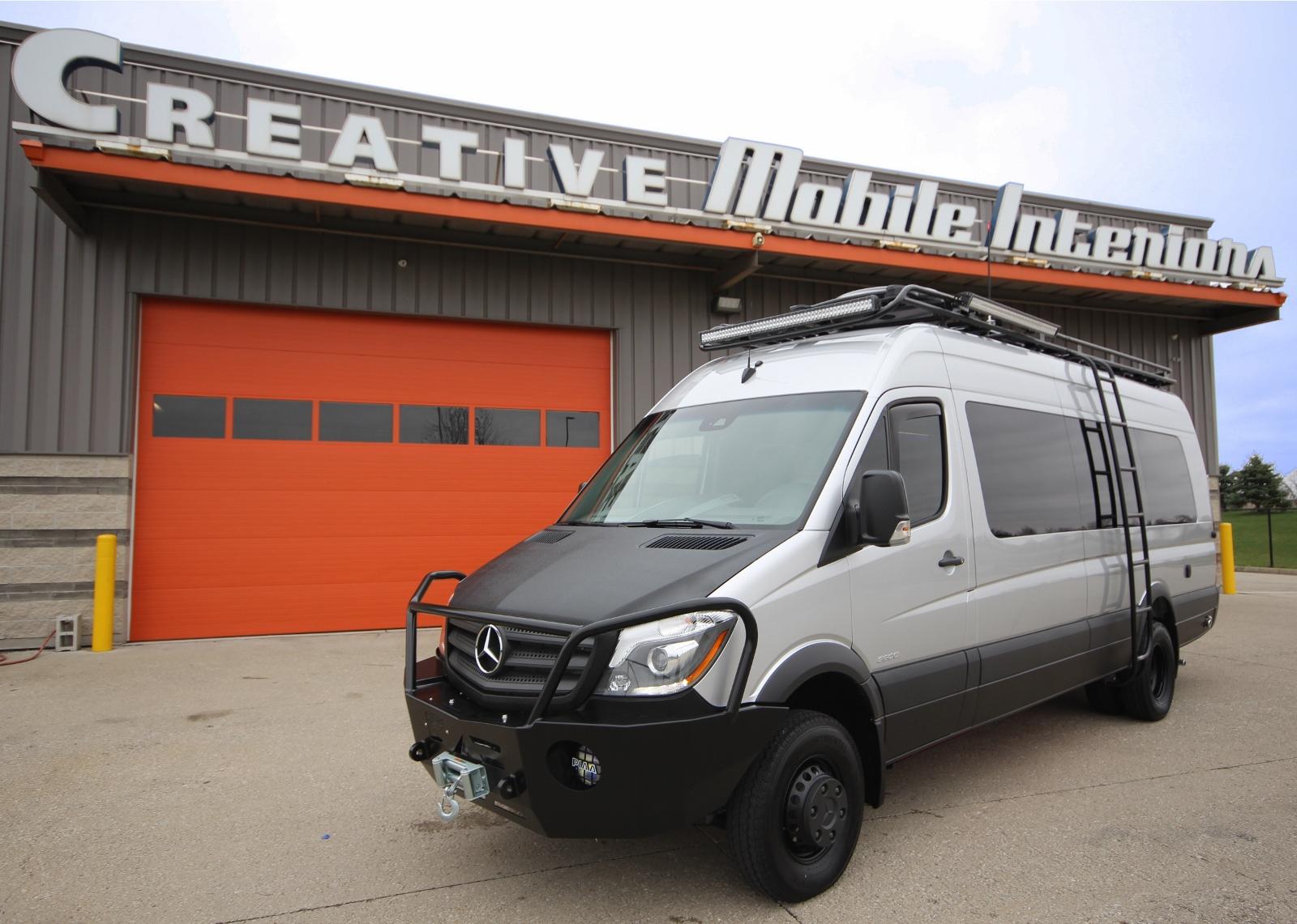 4x4 Sprinter Van For Sale >> 2016 Loaded 4x4 Sprinter