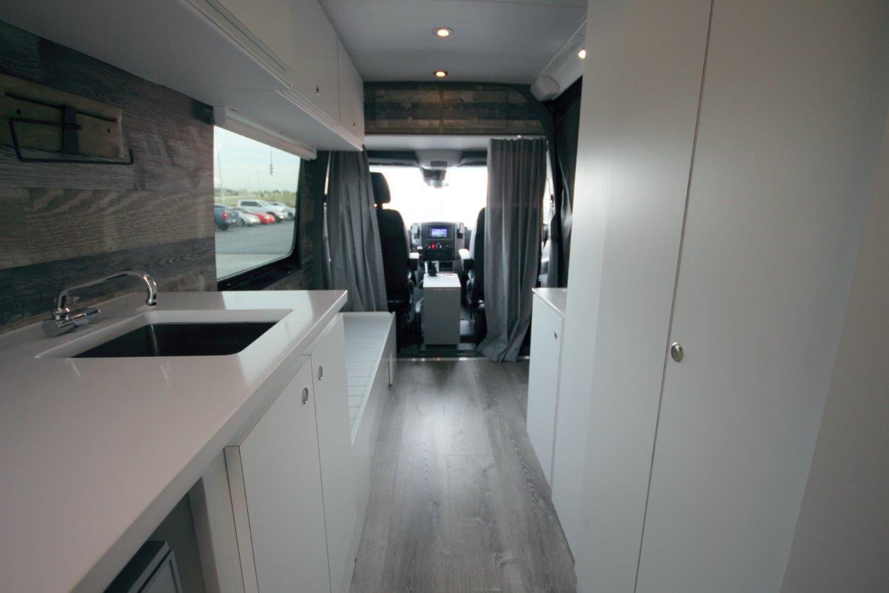 Step Van For Sale >> Partial DIY Sprinter Build