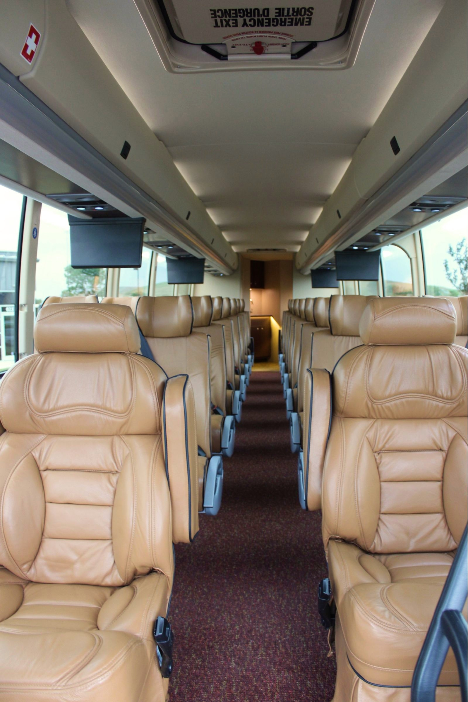 Custom Prevost Executive Coach