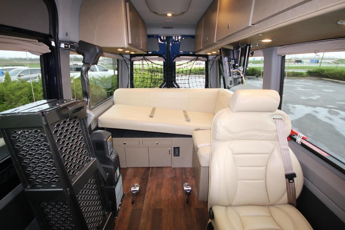 Wheelchair Accessible Vans >> Wheelchair Accessible Custom Sprinter Van