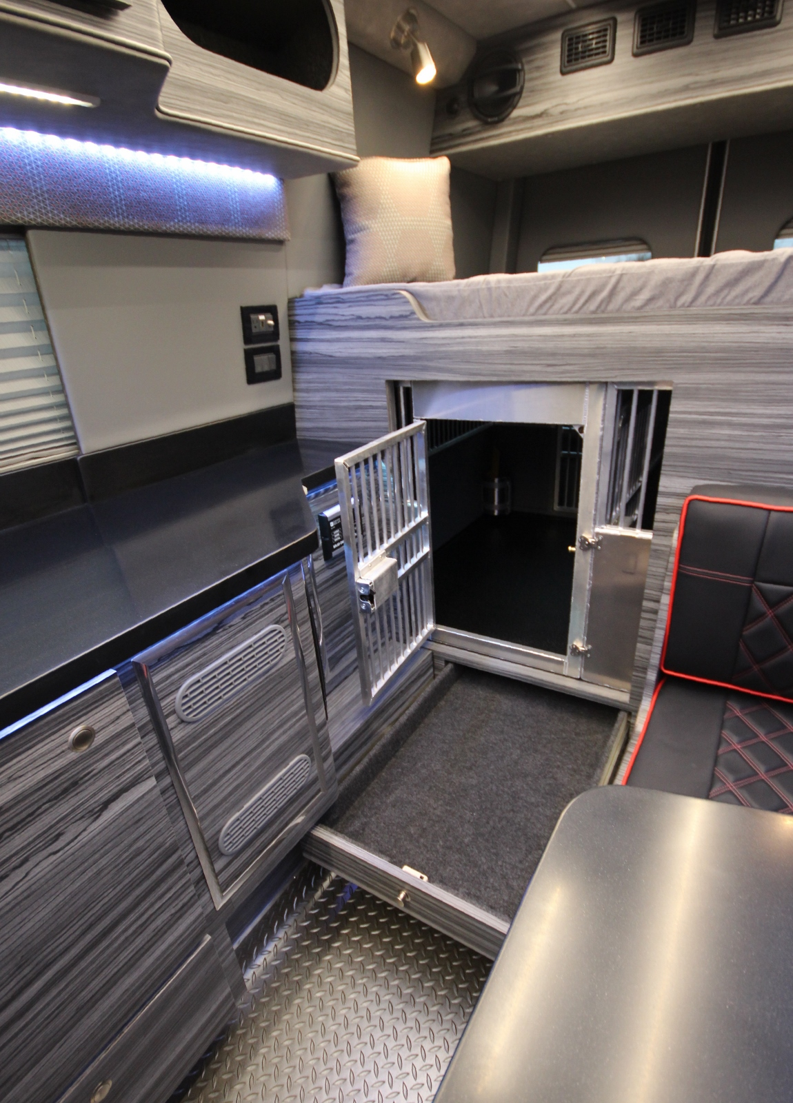 Mercedes Sprinter Van >> Fully-Loaded Off-Road Sprinter Van