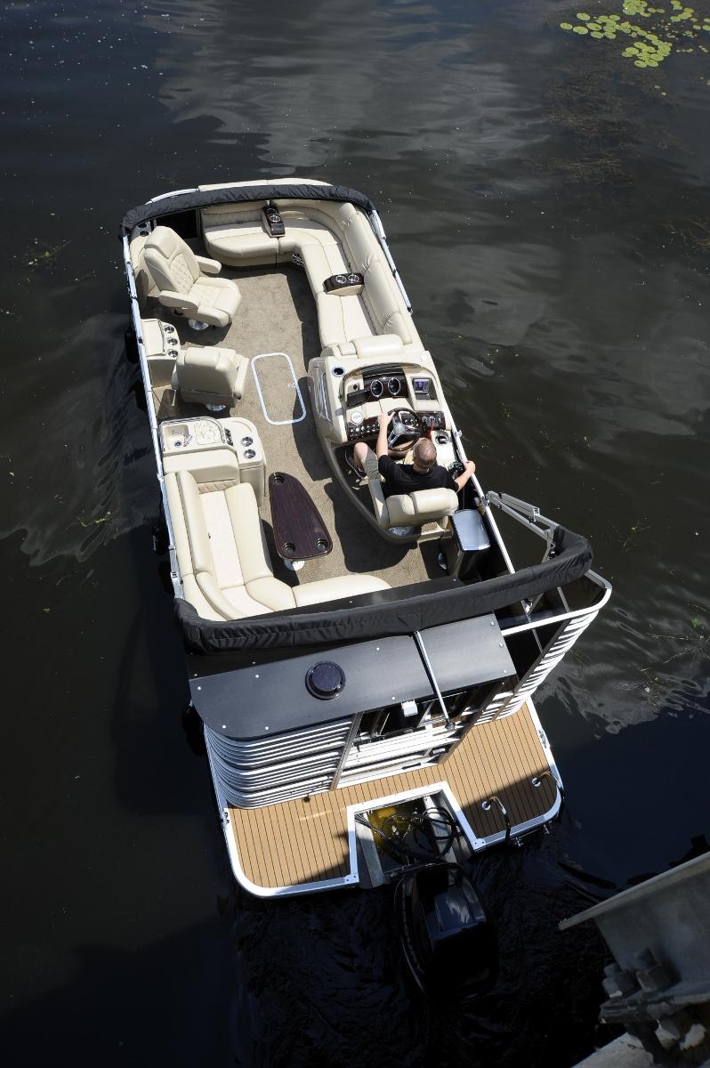 Bennington Pontoon Boat Retrofit