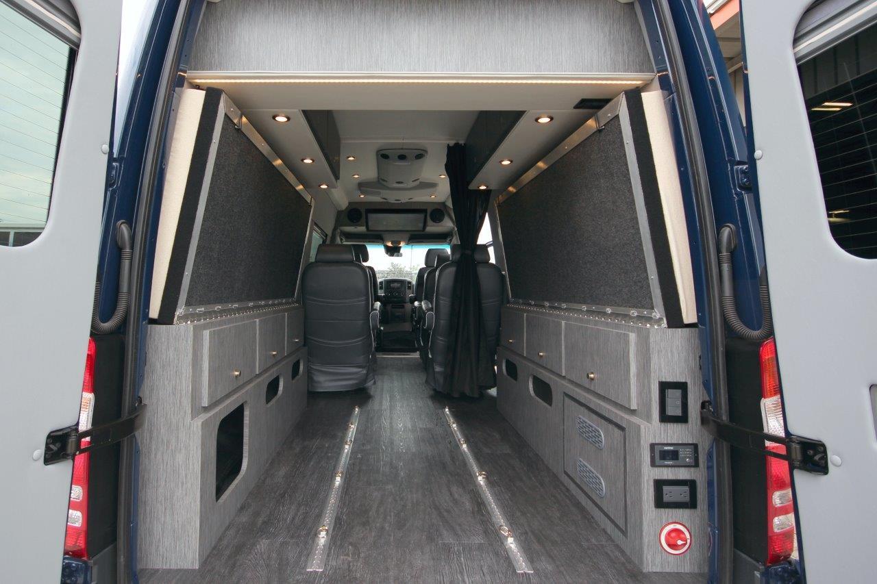 Crew Van With Flip Down Bed