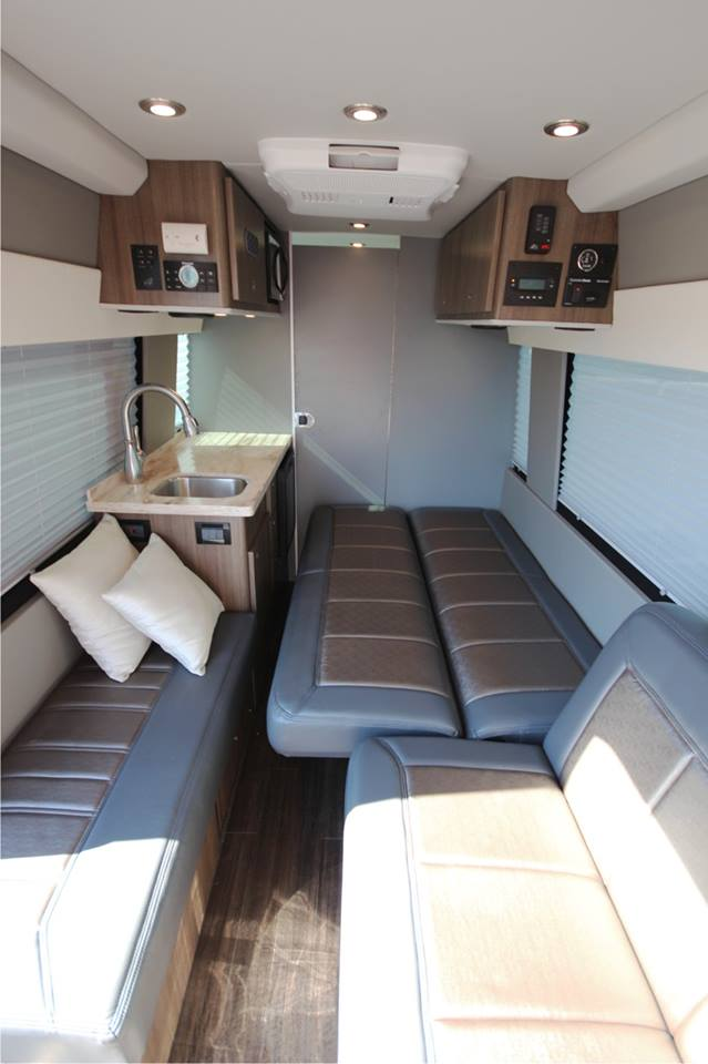 Custom Mercedes Sprinter >> Luxury Sprinter RV for Tailgating & Camping