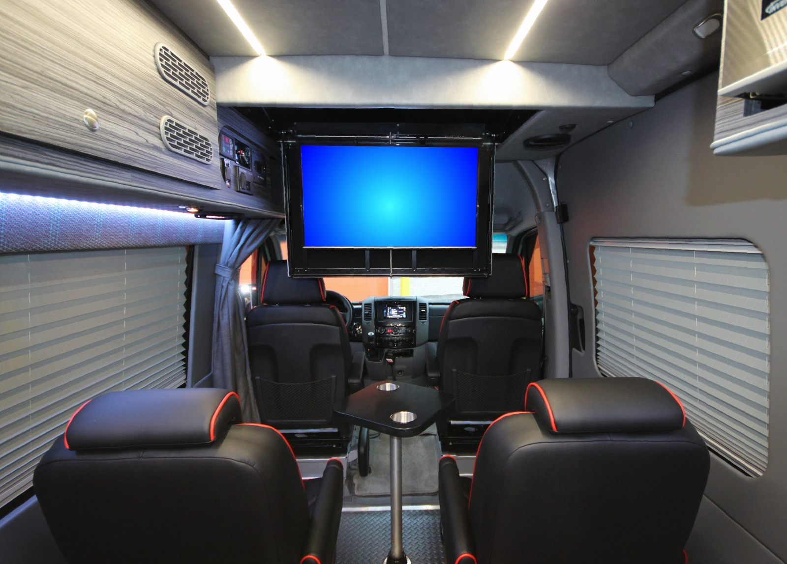 Mercedes Rv For Sale >> Fully-Loaded Off-Road Sprinter Van