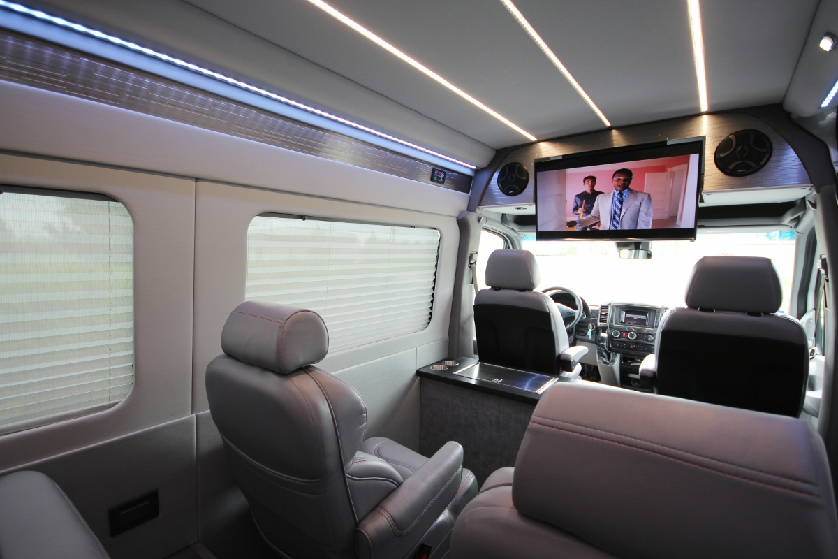 Mercedes Sprinter Van >> Custom OSU Tailgating Sprinter