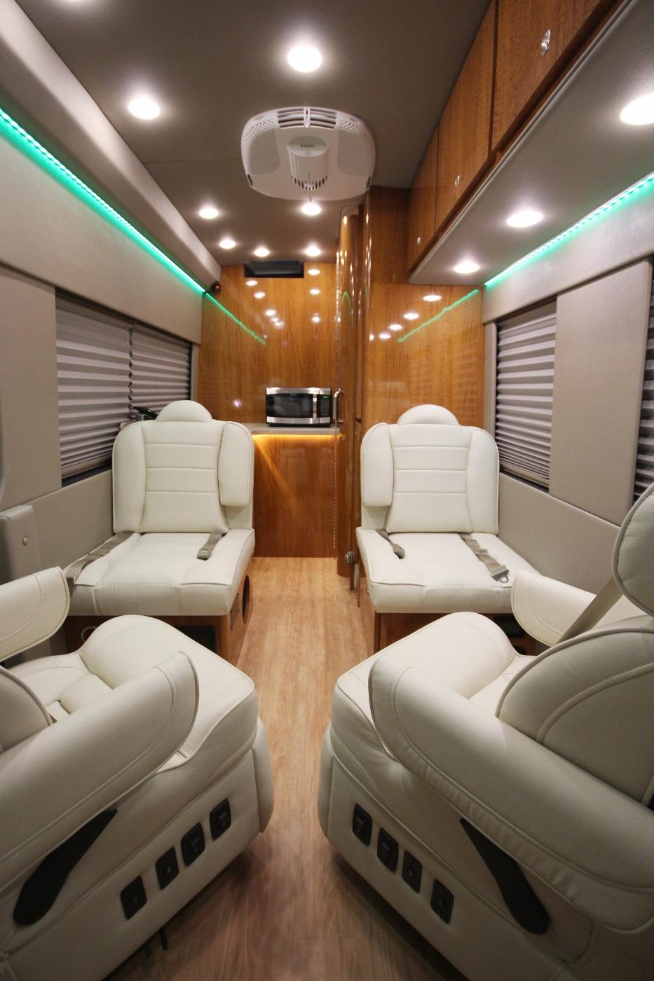 4x4 Van For Sale >> Custom Luxury 4x4 Ford Transit