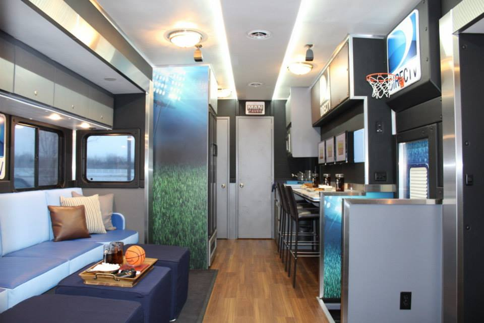 Mobile Mini Man Cave : Featured on quot man caves directv s ultimate tailgater