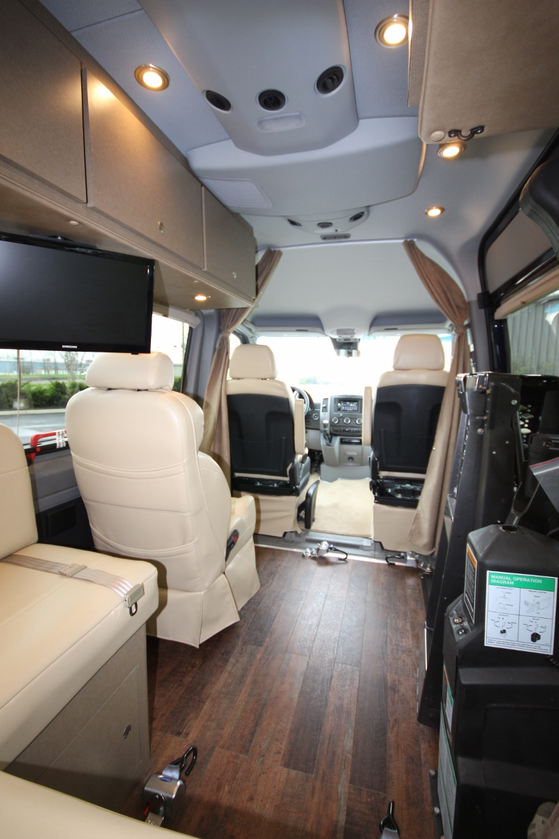 4X4 Van For Sale >> Wheelchair Accessible Custom Sprinter Van