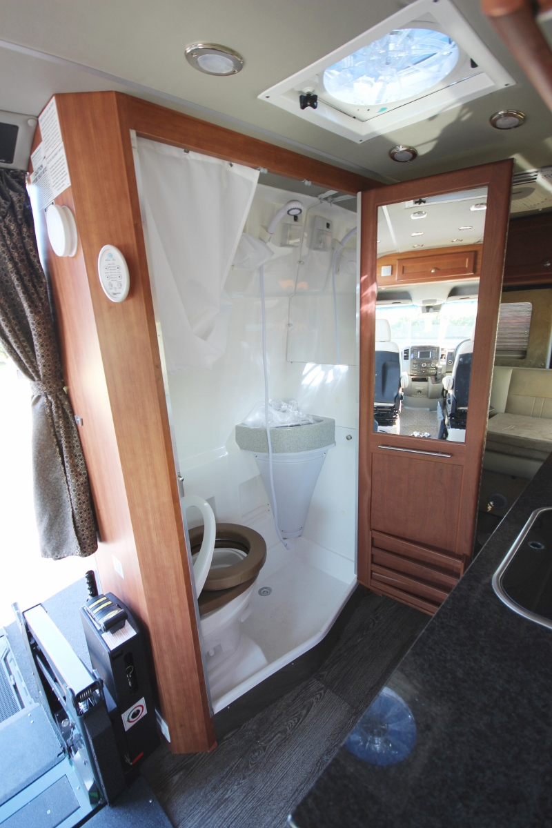 RoadTrek RV Handicap Retrofit