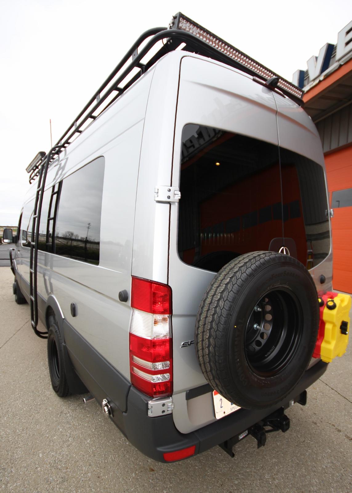 Off Road Design >> Fully-Loaded Off-Road Sprinter Van
