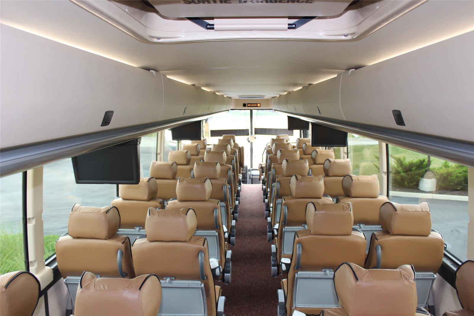 8 Passenger Vehicles >> Custom Prevost Executive Coach
