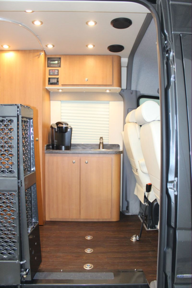 Special Needs Sprinter With Bathroom