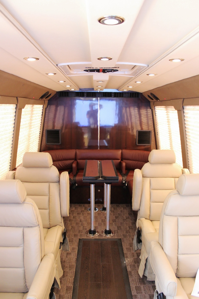 Luxurious Corporate Shuttle Bus