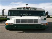 MSU Tailgating School Bus