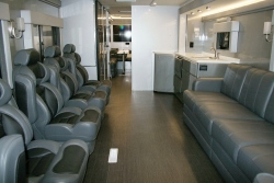 Incroyable RV Motorhome Turned Executive Office / Lounge