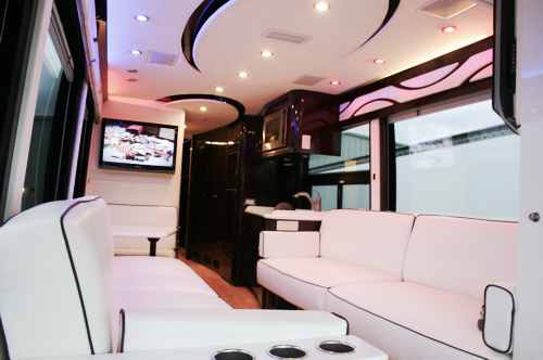 Custom Executive Bus