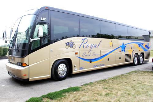 Royal Luxury MCI Tour Bus