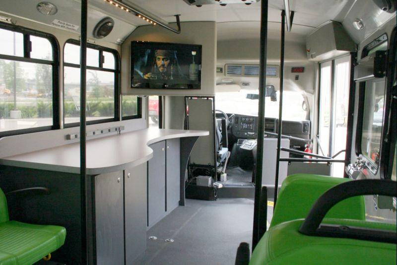 Going Green Presentation Shuttle Bus