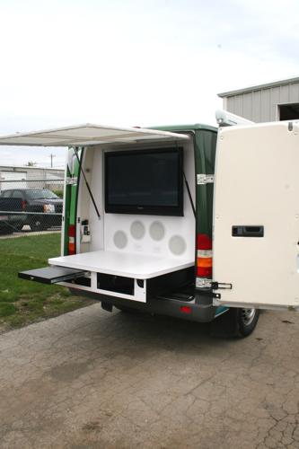 4X4 Van For Sale >> Mobile Marketing Sprinter Van