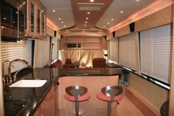 Custom mci motor home for Custom motor coach builders