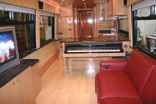 Custom Mci Motor Home