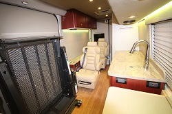 Accessible Sprinter Van With Bathroom