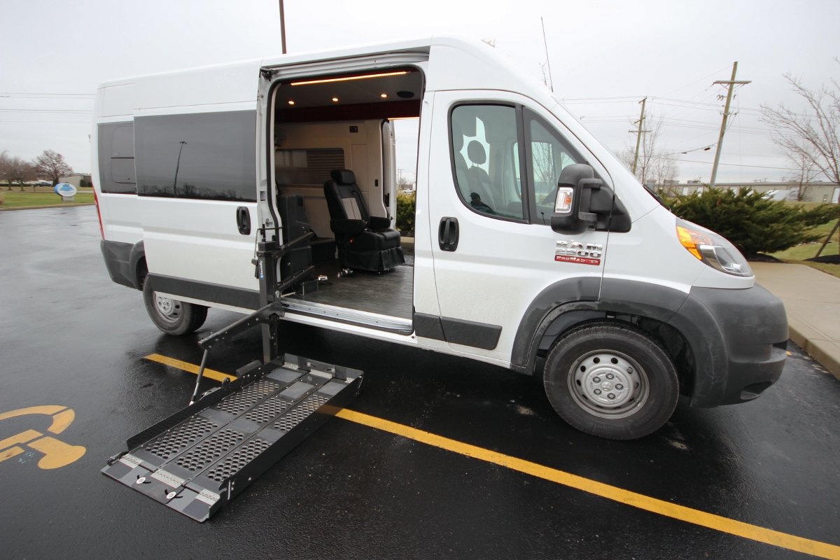 Wheelchair Lift For Van To Family Van Custom Special Needs Vehicles