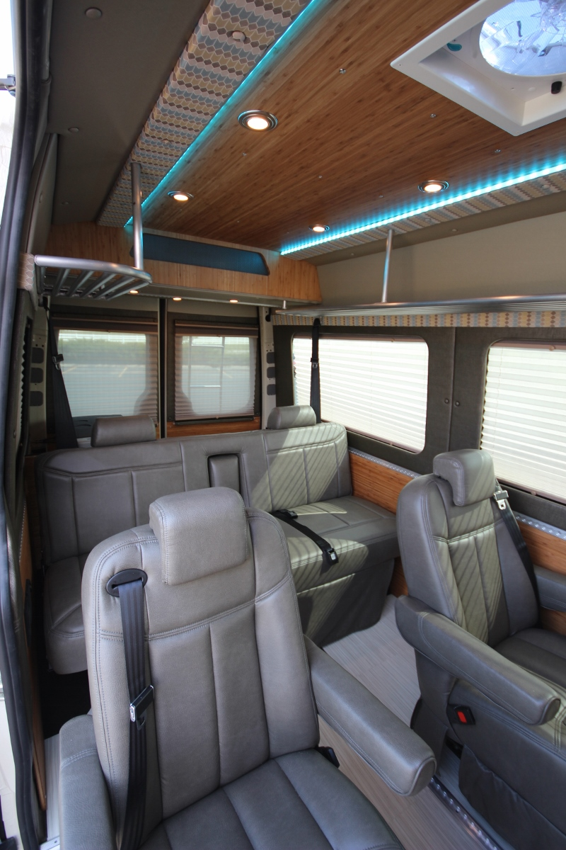 Custom Family Sprinter Van With Comfort And Style
