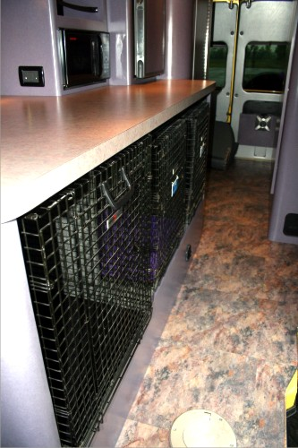 Dog Transporter Sprinter Conversion Van Custom