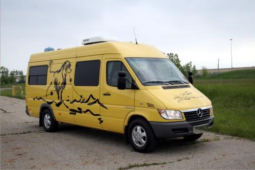 Dog Transporter - Sprinter Conversion Van Custom