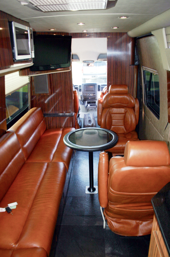 Luxurious Mercedes Limousine Sprinter