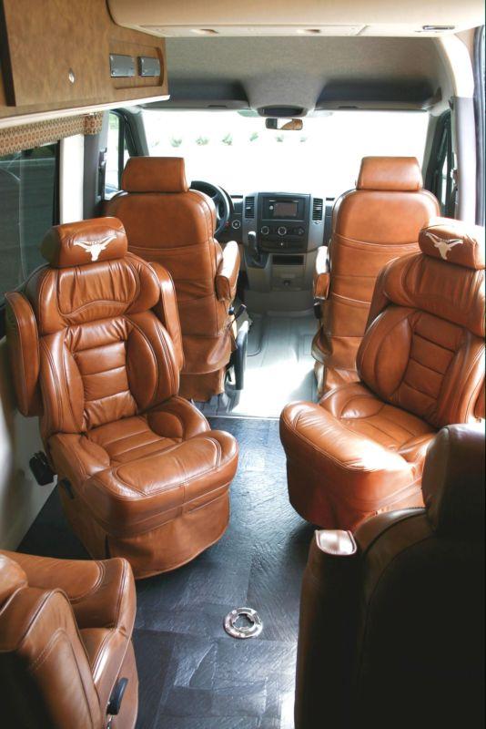 Texas Longhorn Custom Tailgating Sprinter Van