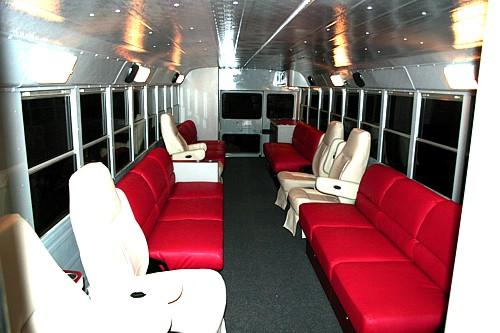 Ultimate Tailgate Buckeye Bus