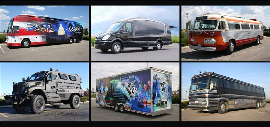 An Assortment of Our Custom Vehicle Conversions
