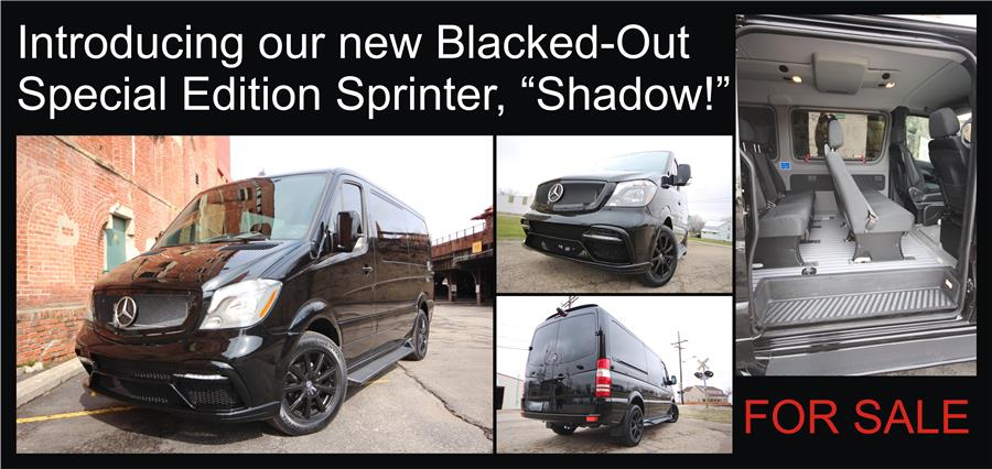 Blacked-Out Custom Shadow Sprinter