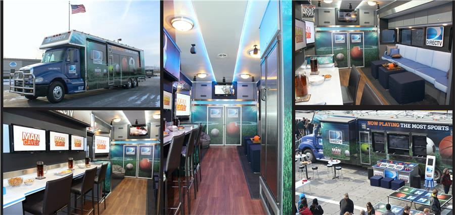 DirecTV Man Caves Custom RV Coach