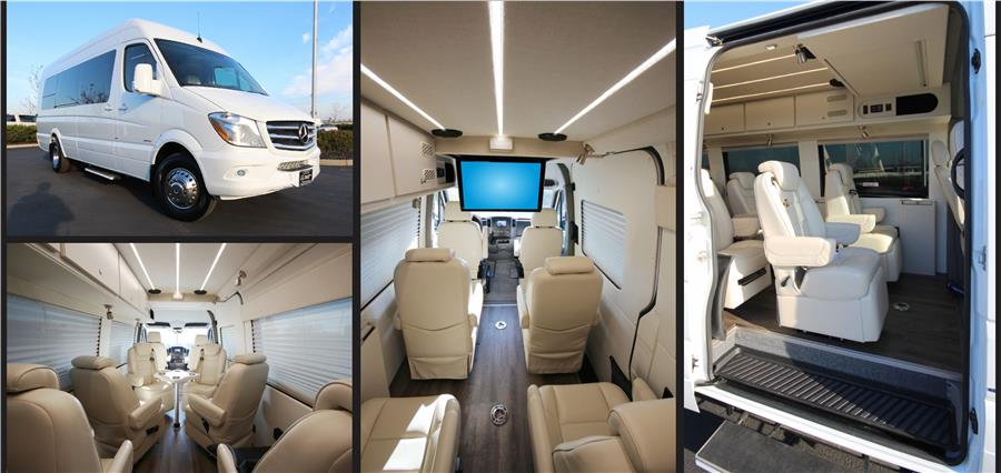 Executive Luxury Sprinter Van